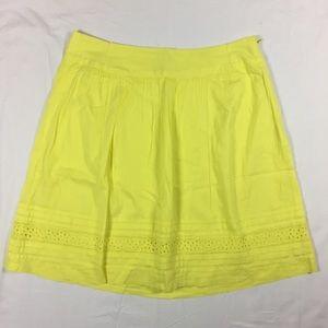 LOFT Cotton Lace Skirt size 2